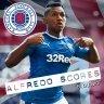 Alfredo scores
