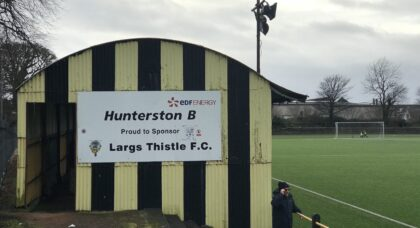Ground-hopping by the seaside: a trip to Largs Thistle